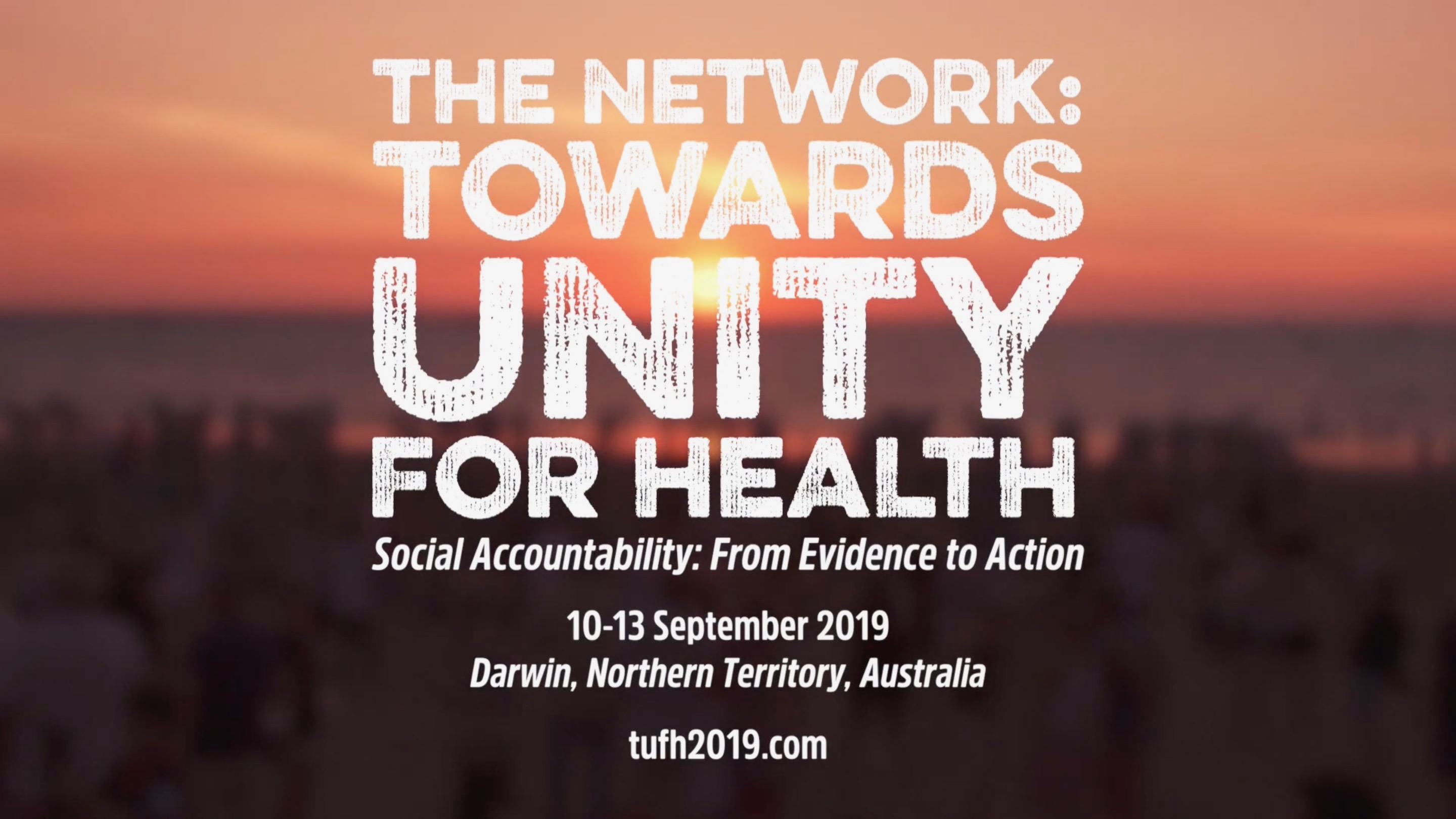 The Network: Towards Unity for Health